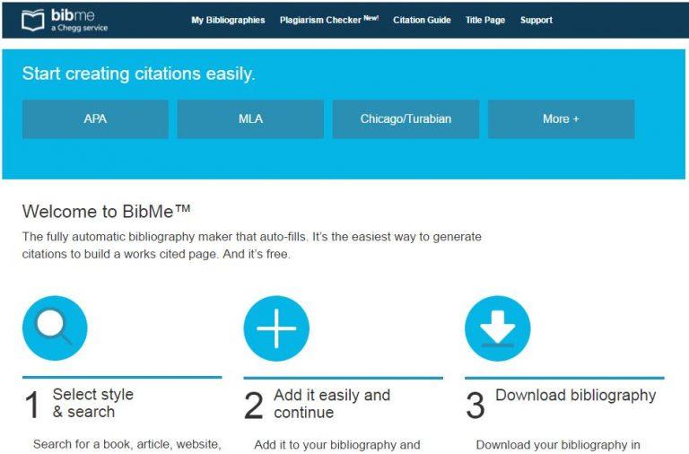 Free Bibme Apa Format For Citations Talart Ru